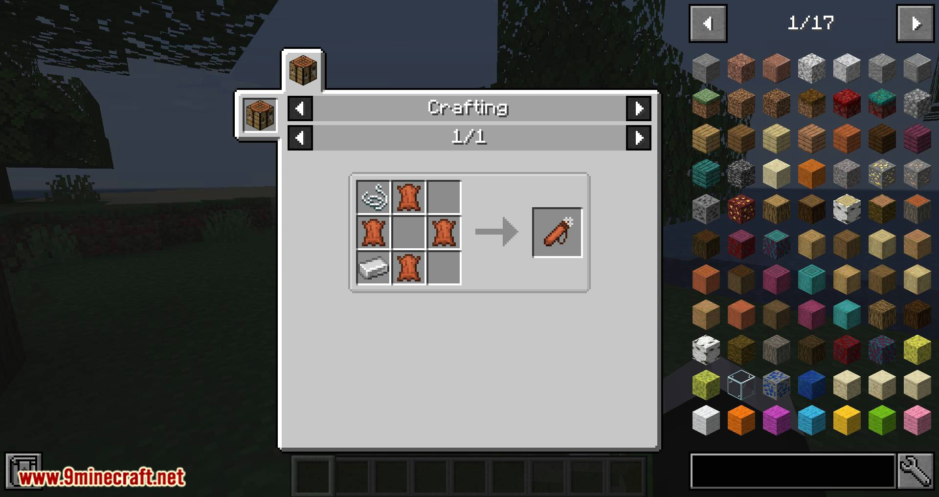 Quiver Redux mod for minecraft 01