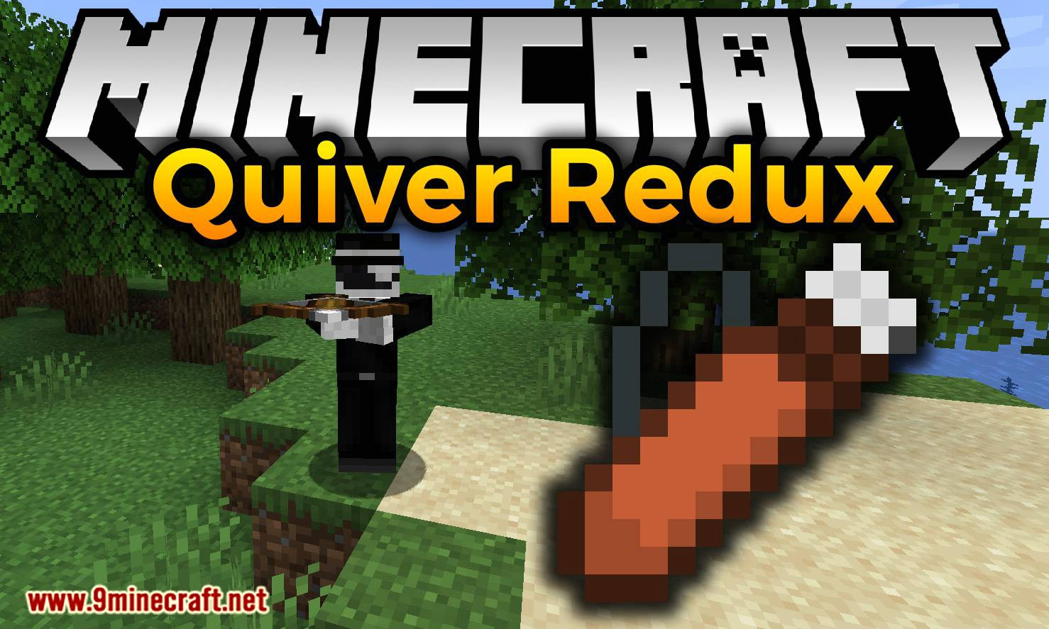 Quiver Redux mod for minecraft logo