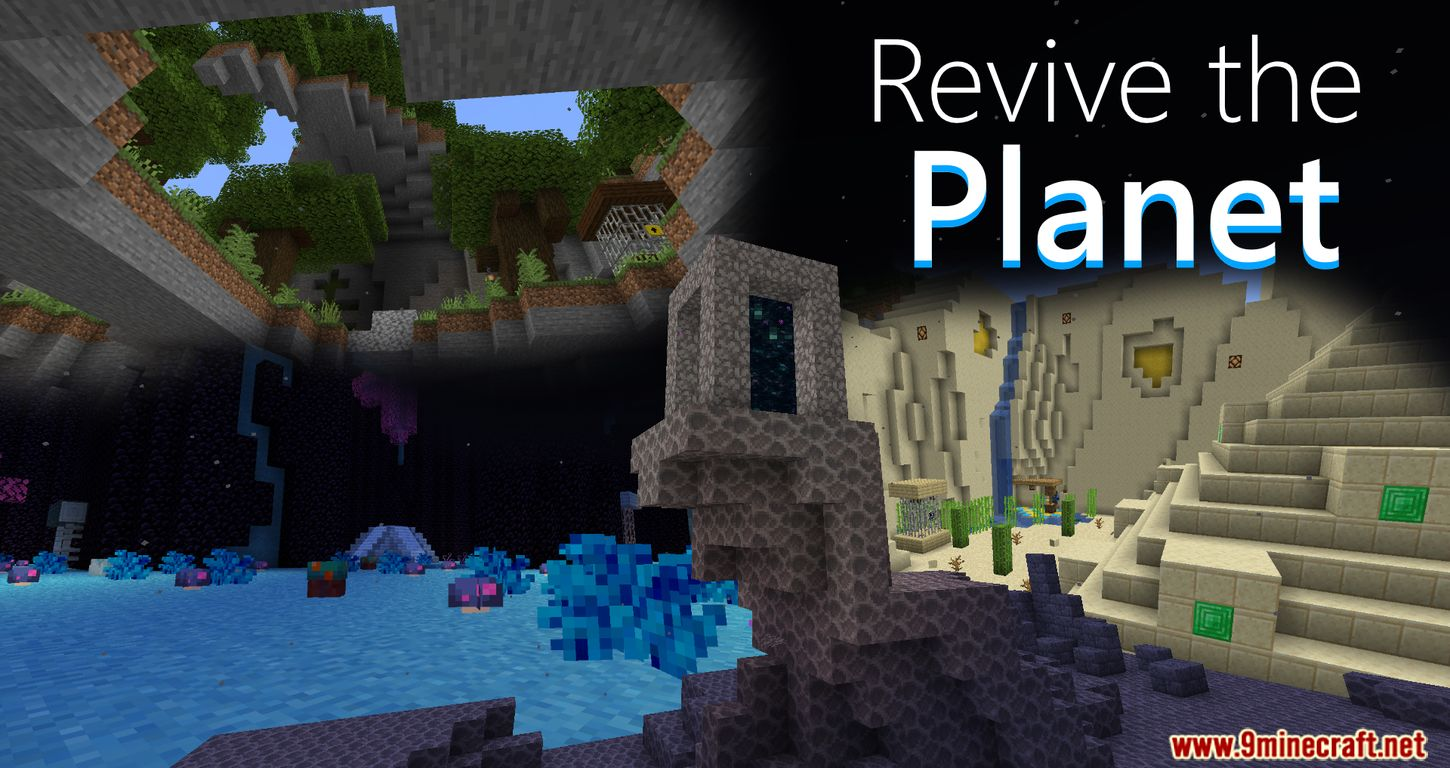 Revive the Planet Map 8.85.8 for Minecraft - 8Minecraft.Net