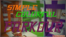 Simple Colorful Parkour Map Thumbnail