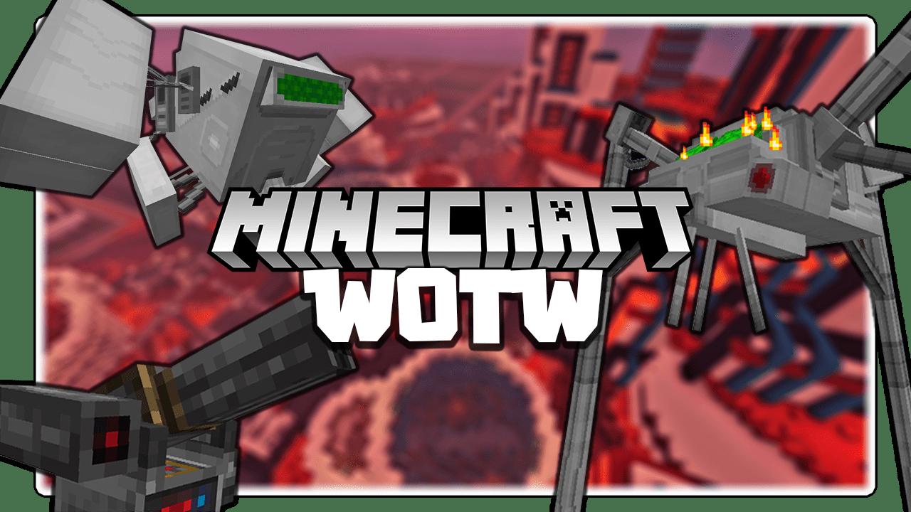 War of the Worlds Mod 1.16.5/1.15.2