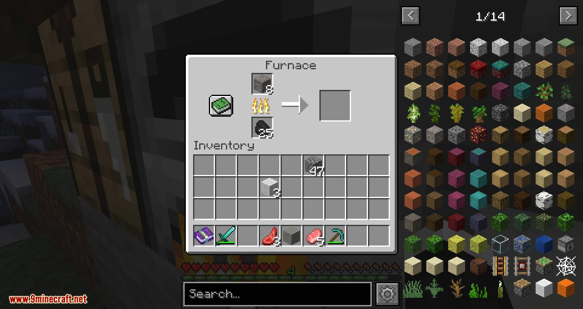 XP Storage mod for minecraft 04