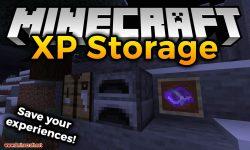 XP Storage mod for minecraft logo