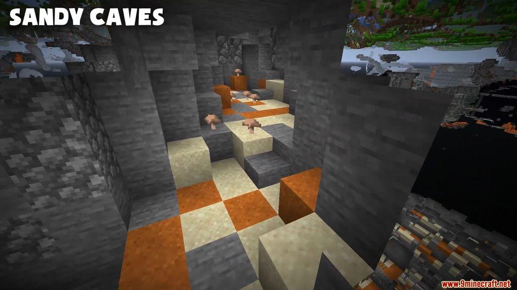Cave Biomes Data Pack Screenshots (3)