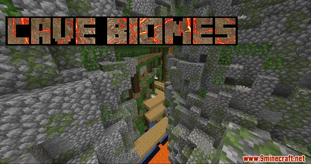 Cave Biomes Data Pack Thumnnail
