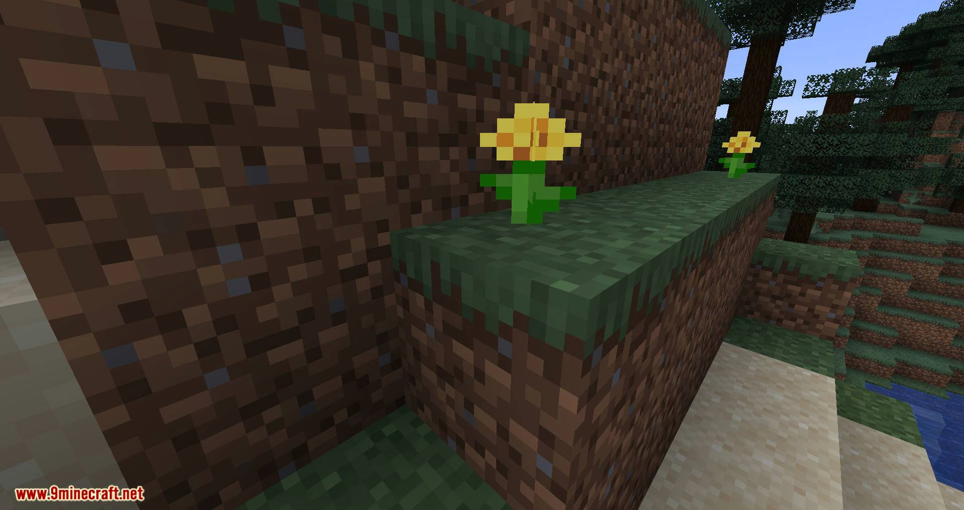 Flora Doubling mod for minecraft 01