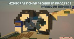 Minecraft Championship Practice Parkour Remake Map Thumbnail