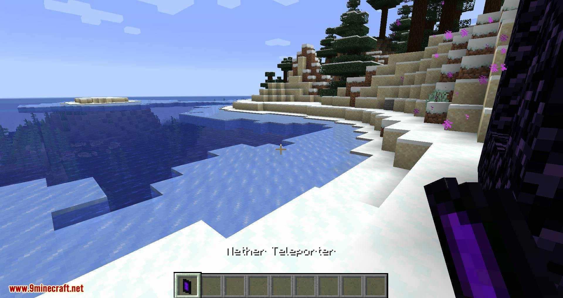 Portable Nether mod for minecraft 03