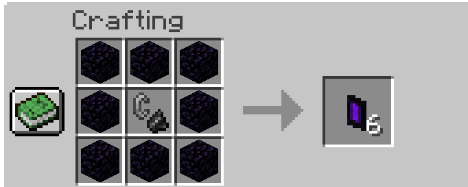 Portable Nether mod for minecraft 21