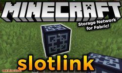 slotlink mod for minecraft logo