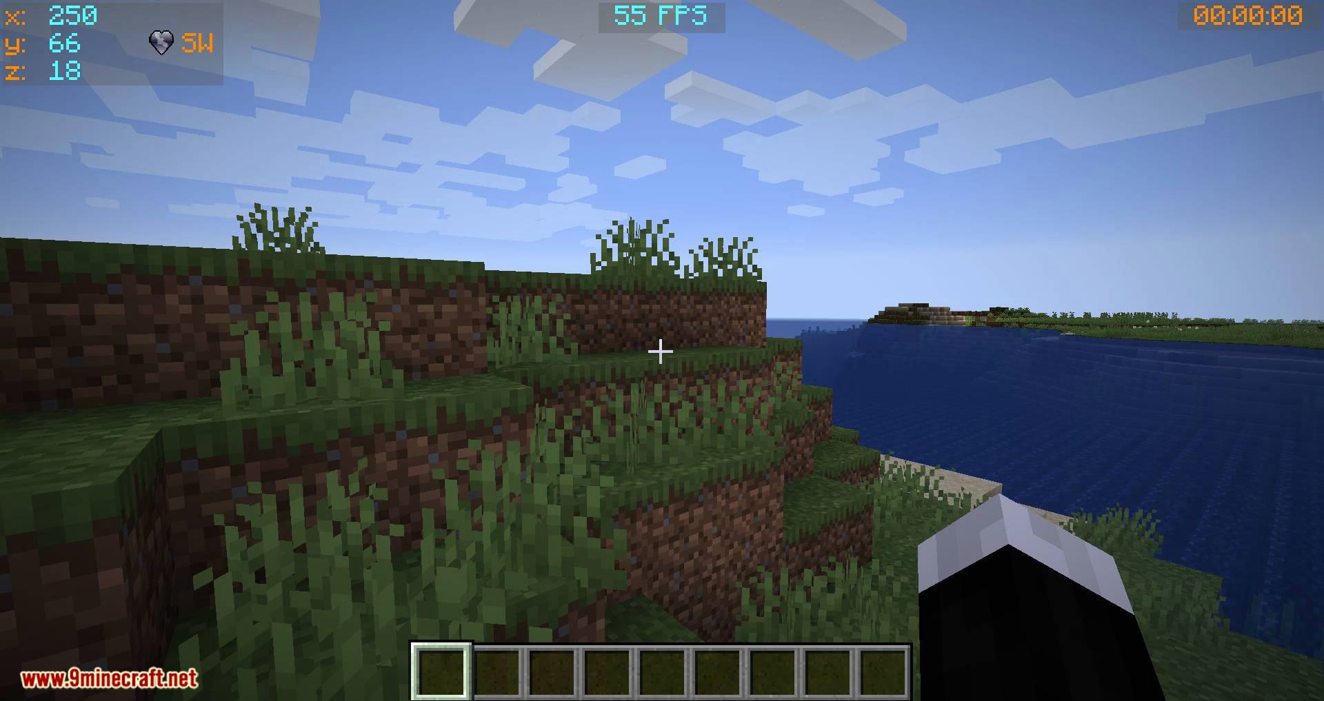 Batty_s Coordinates PLUS mod for minecraft 01
