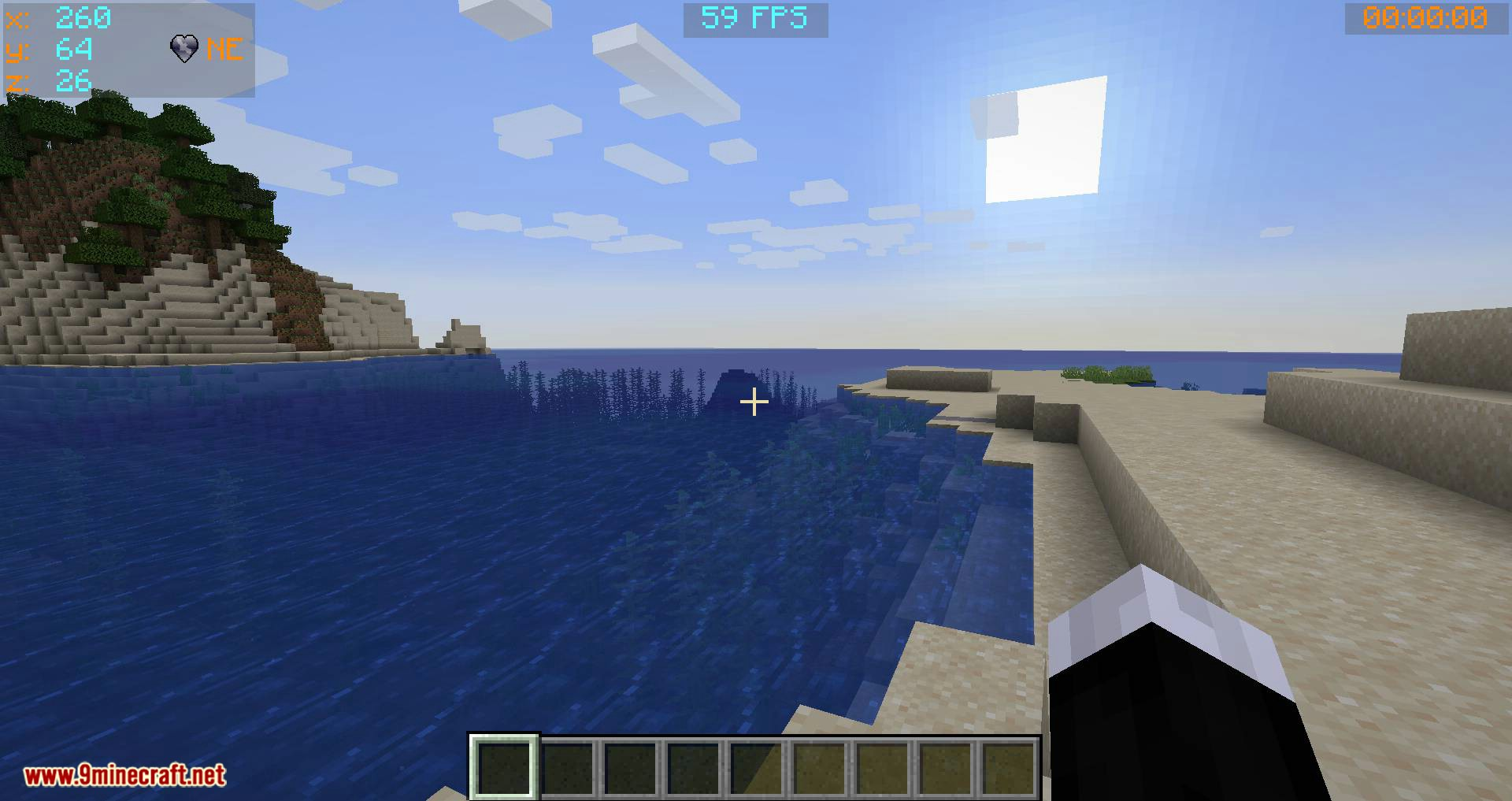 Batty_s Coordinates PLUS mod for minecraft 02