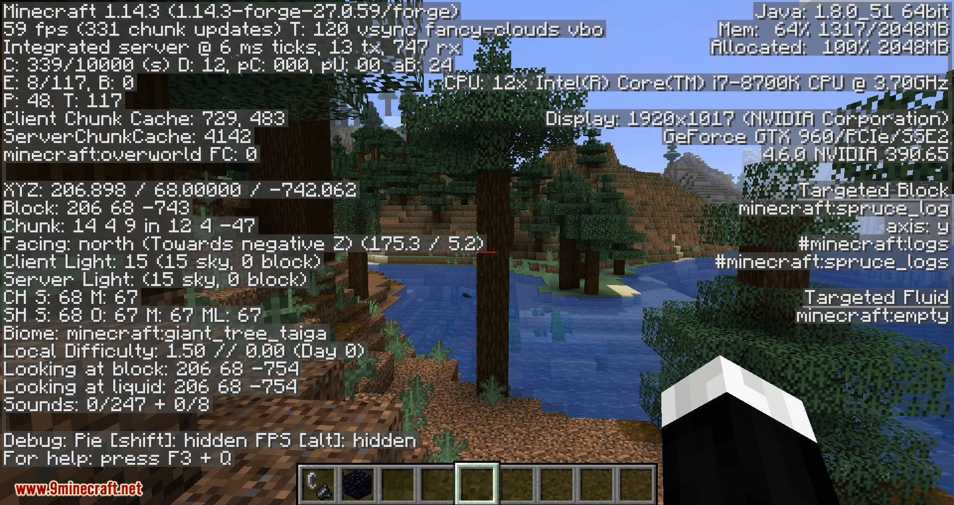 Batty_s Coordinates PLUS mod for minecraft 10