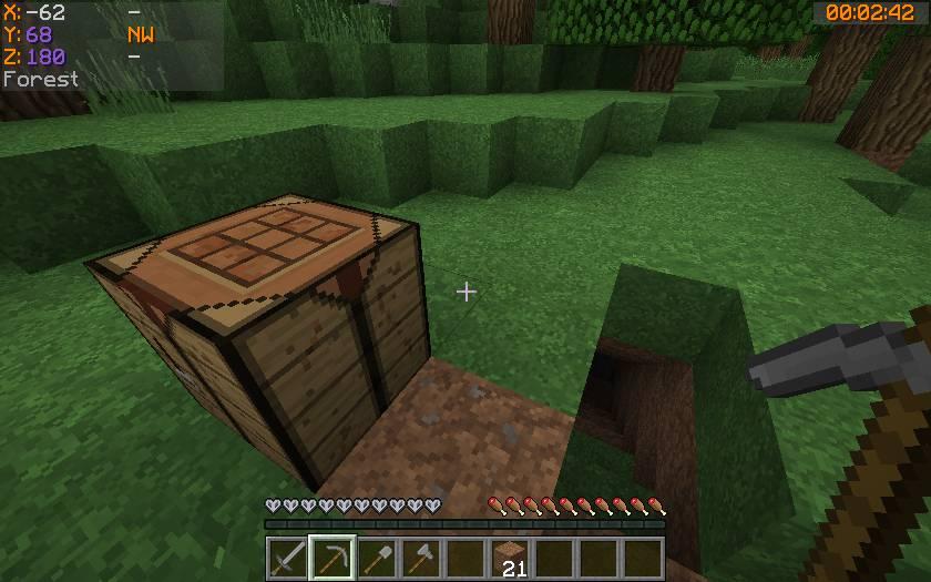 Batty_s Coordinates PLUS mod for minecraft 22