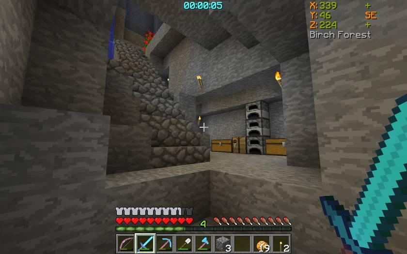 Batty_s Coordinates PLUS mod for minecraft 27