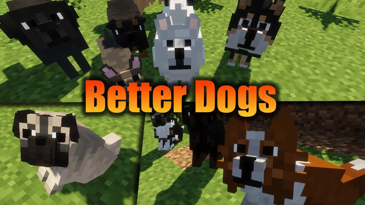 Better Dogs Mod