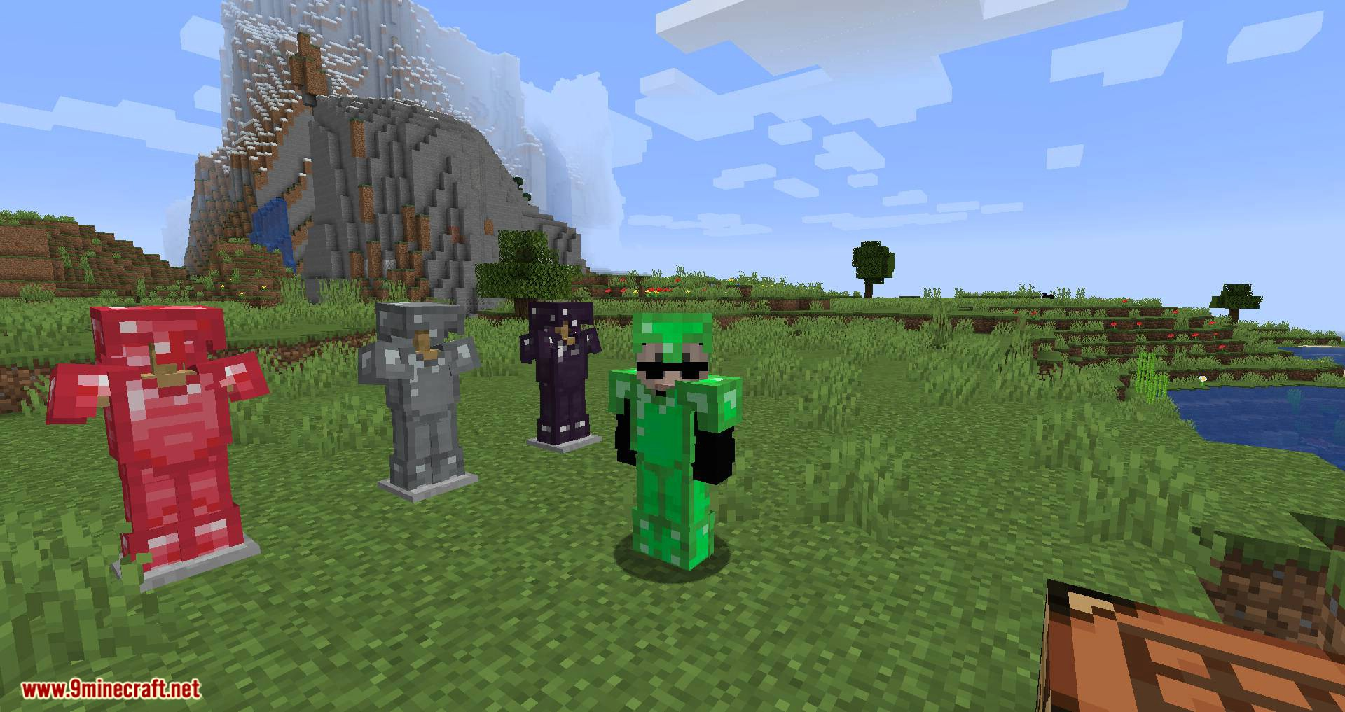 Easy Emerald Tools _ More mod Farbic for minecraft 04