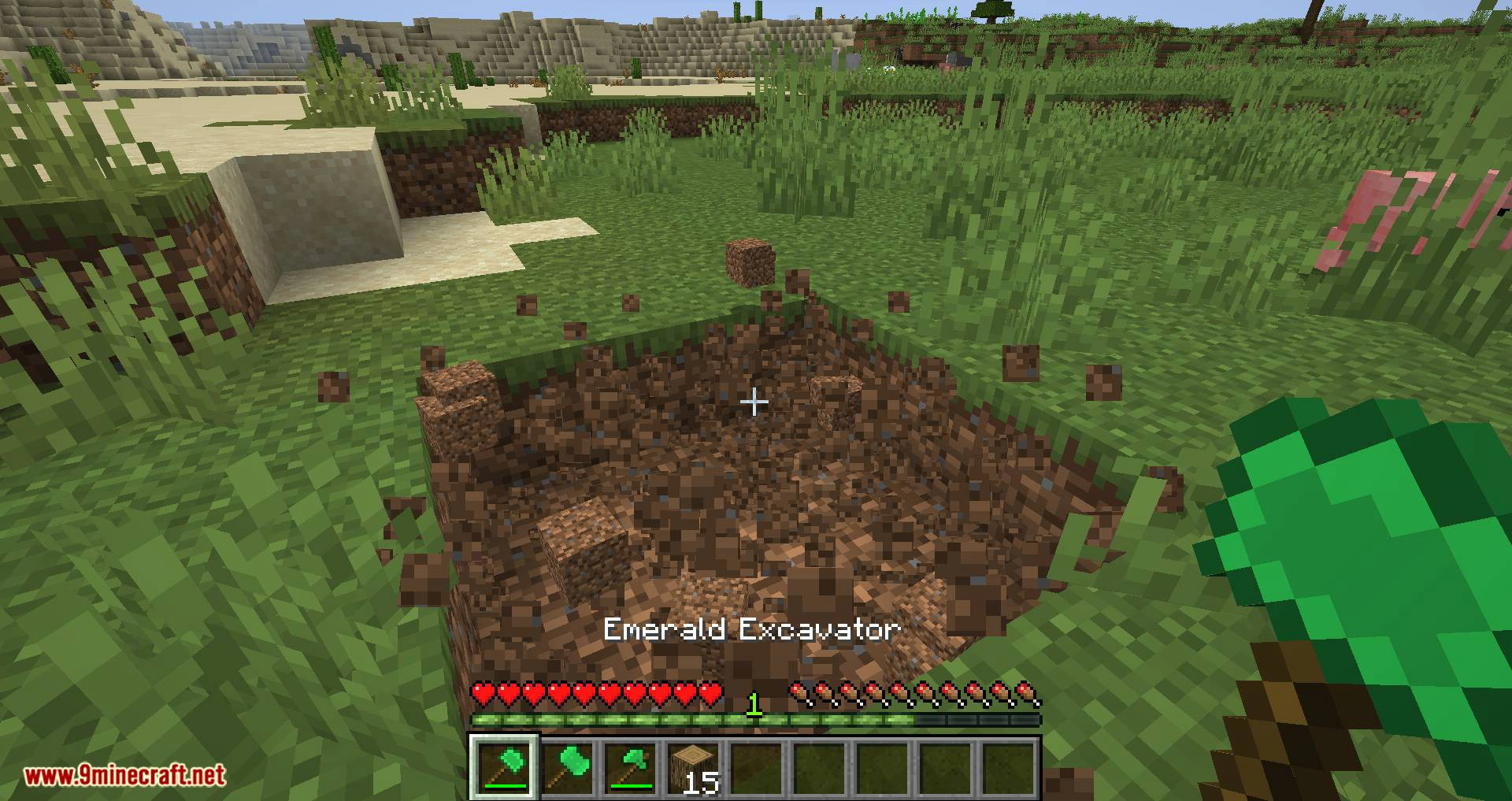 Easy Emerald Tools _ More mod for minecraft 05