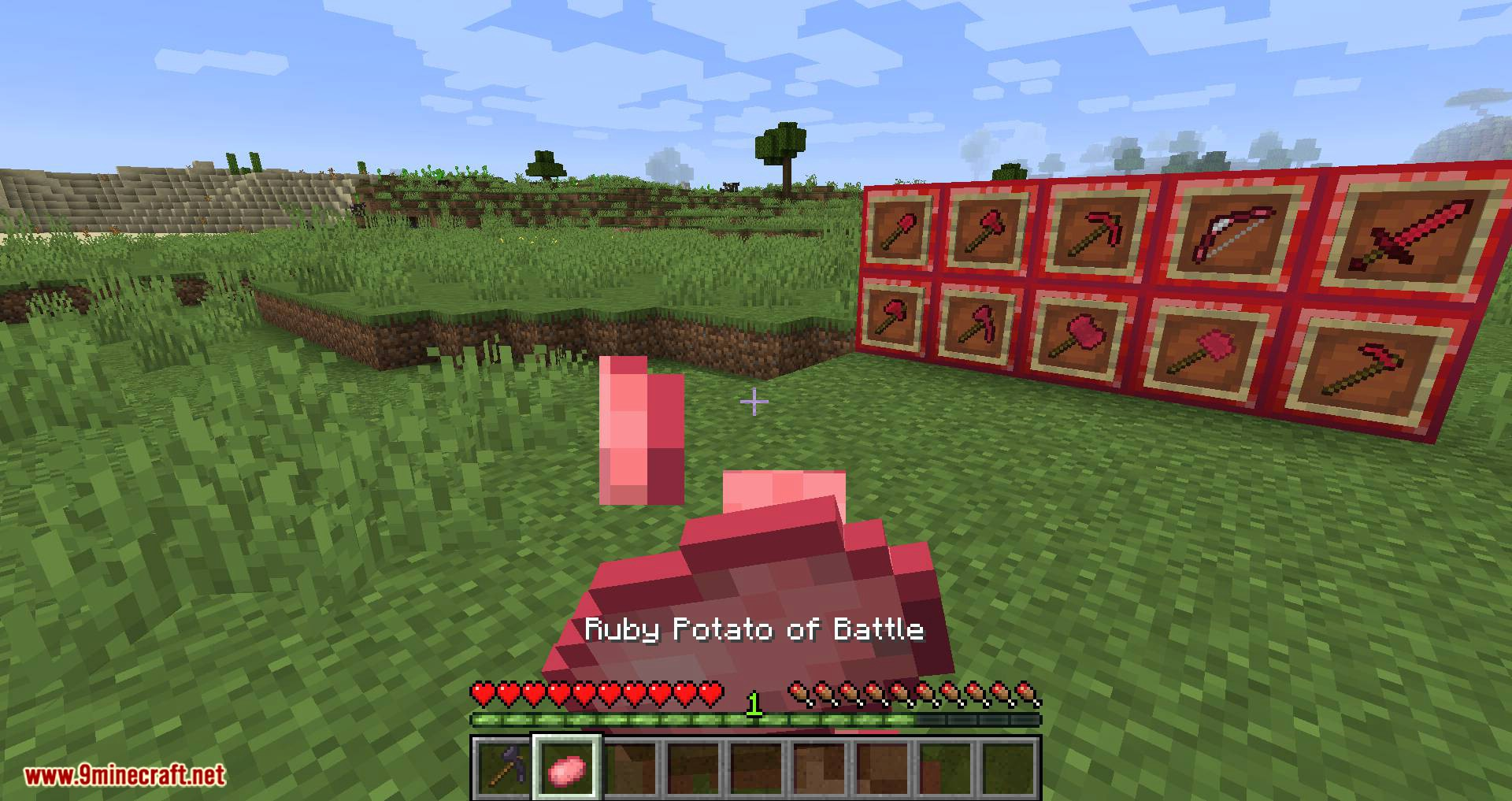 Easy Emerald Tools _ More mod Farbic for minecraft 13
