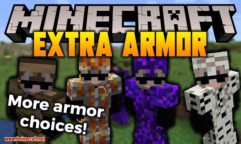 Extra Armor mod for minecraft logo