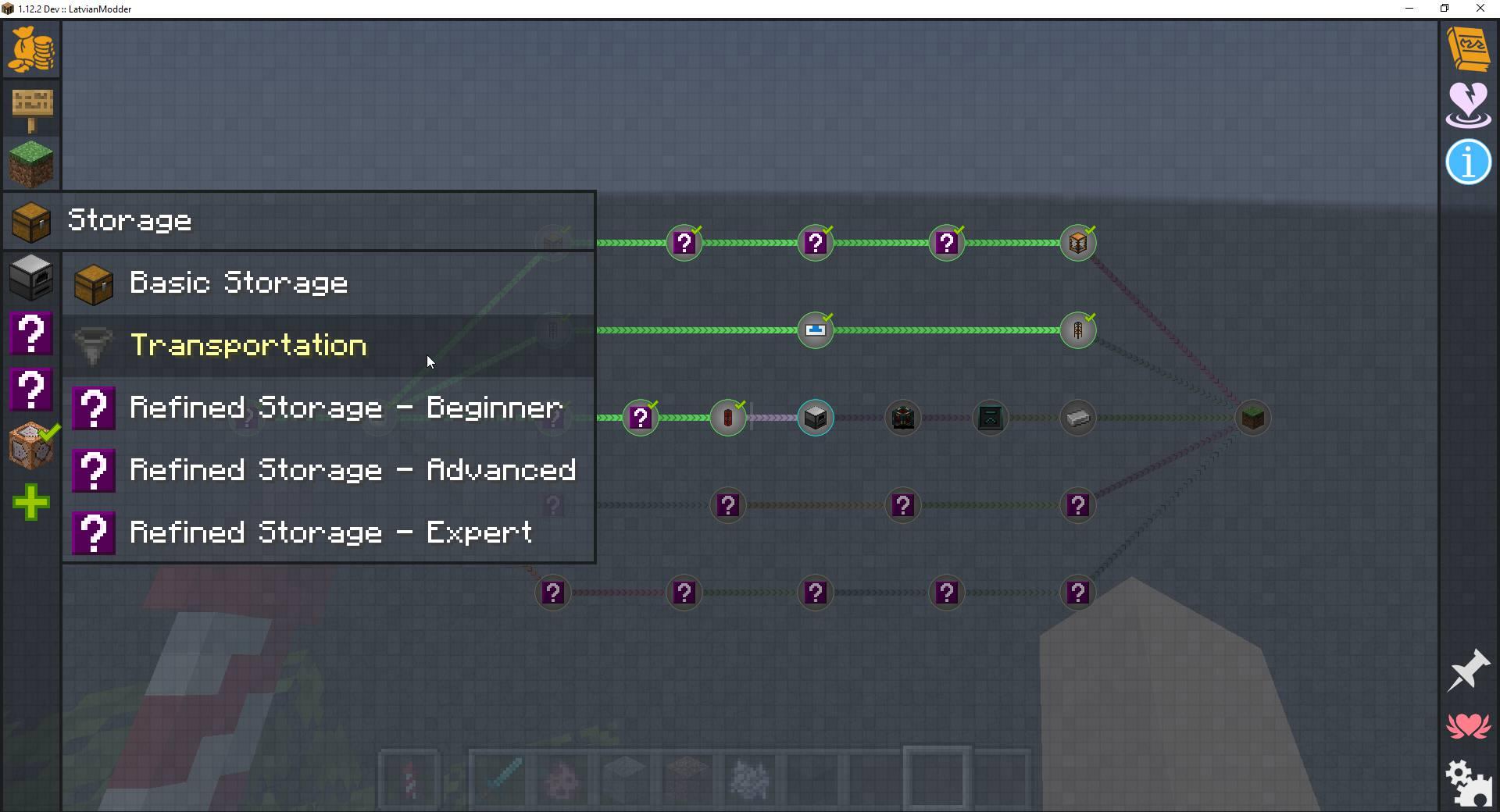 FTB GUI Library mod for minecraft 21