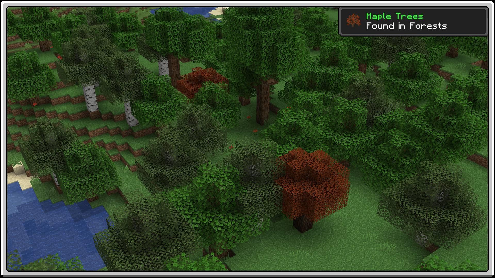 Premium Wood mod for minecraft 22