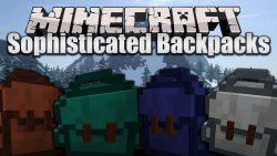 Sophisticated Backpacks Mod