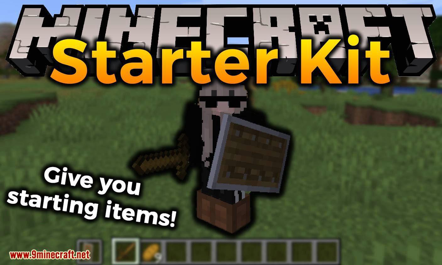 Starter Kit mod for minecraft logo