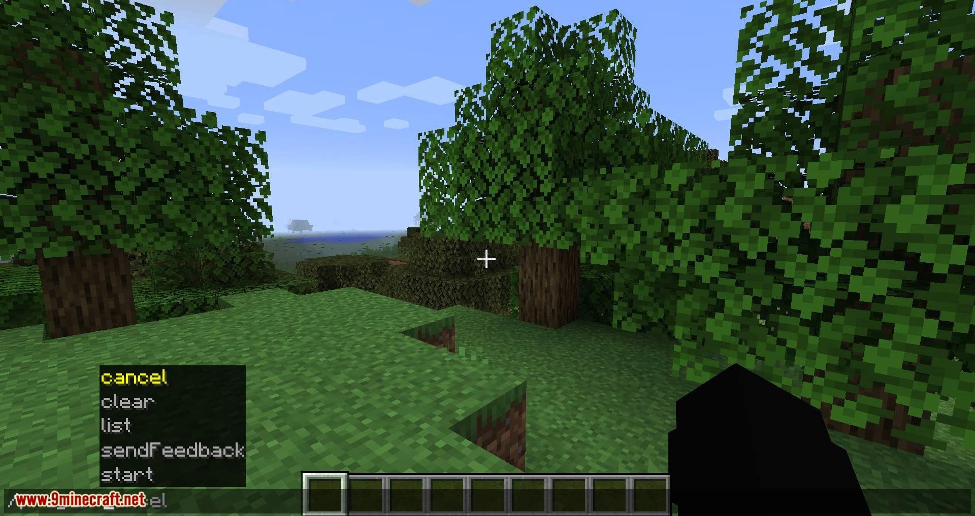 World Pre Generator mod for minecraft 01