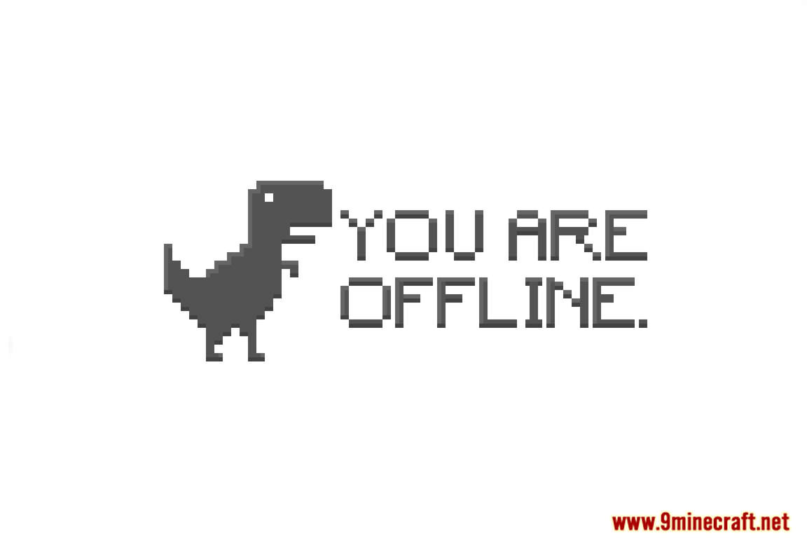 You Are Offline. Map Thumbnail
