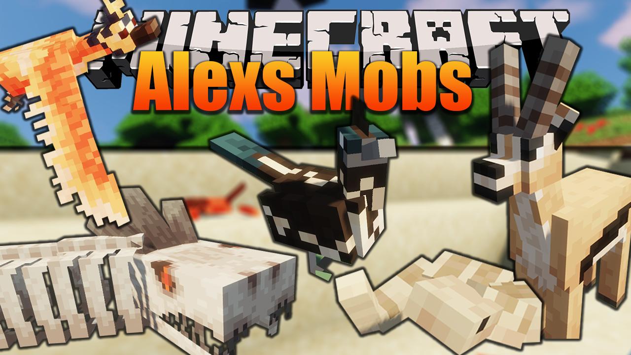 Alexs Mob Mod 1.16.5/1.16.4