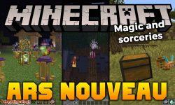 Ars Nouveau mod for minecraft logo