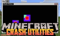 Crash Utilities mod for minecraft logo