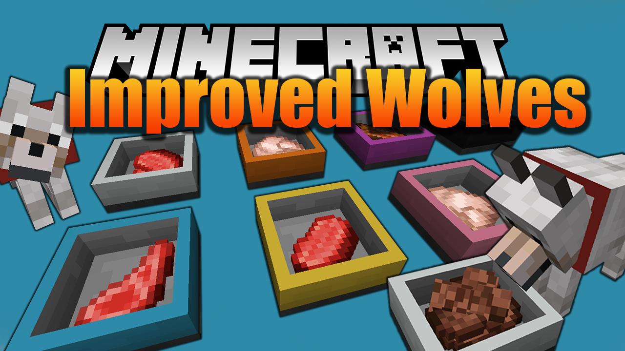 Improved Wolves Mod