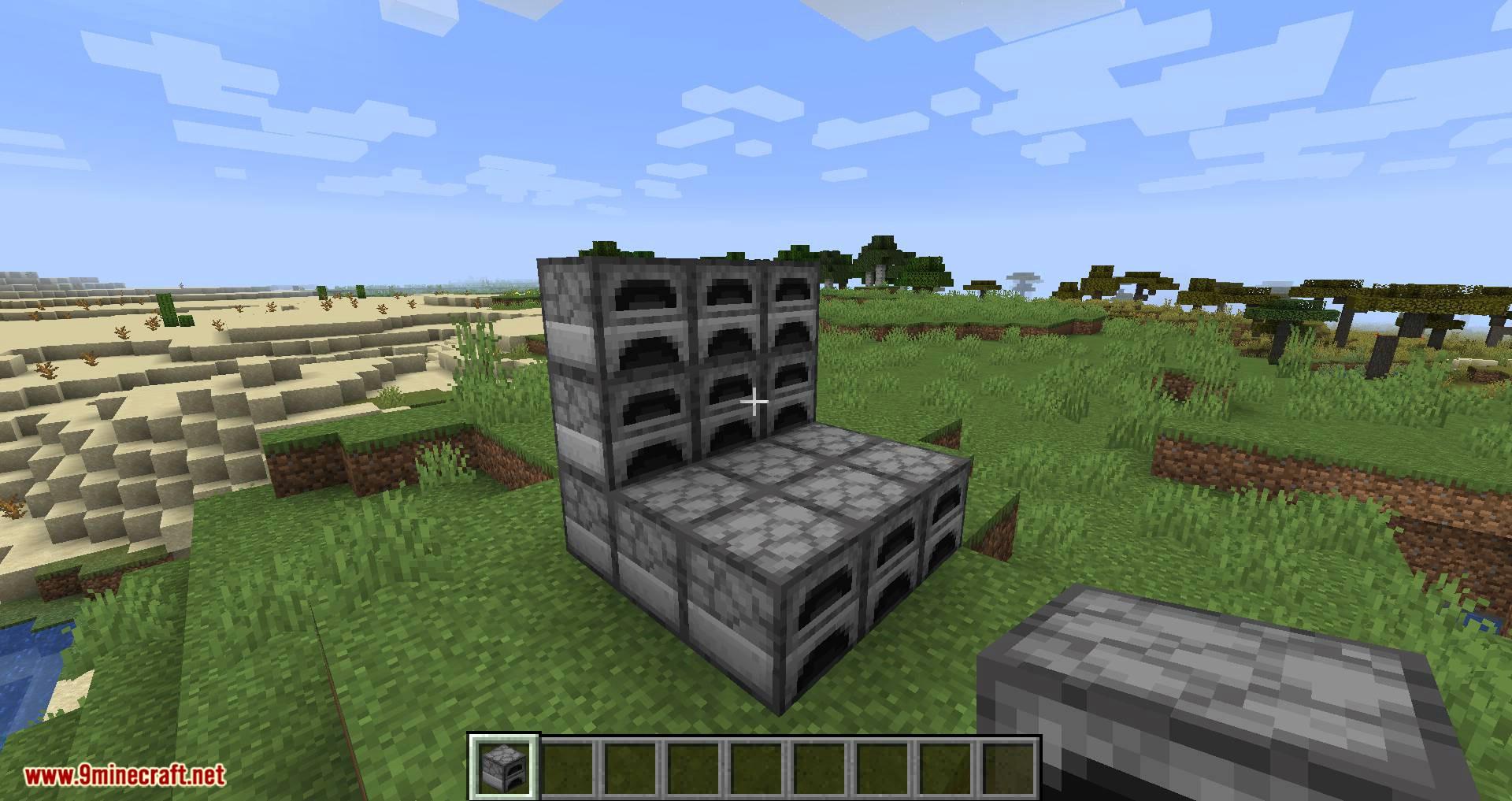 Jumbo Furnace mod for minecraft 03