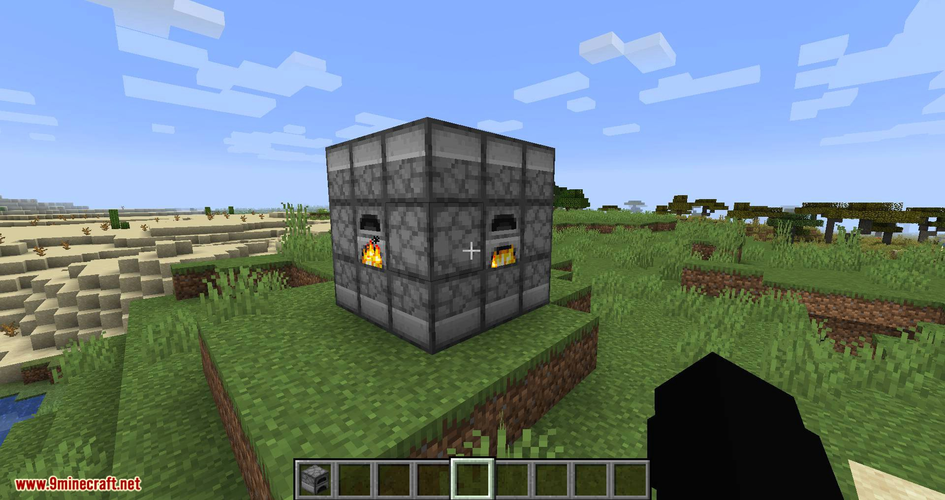 Jumbo Furnace mod for minecraft 07