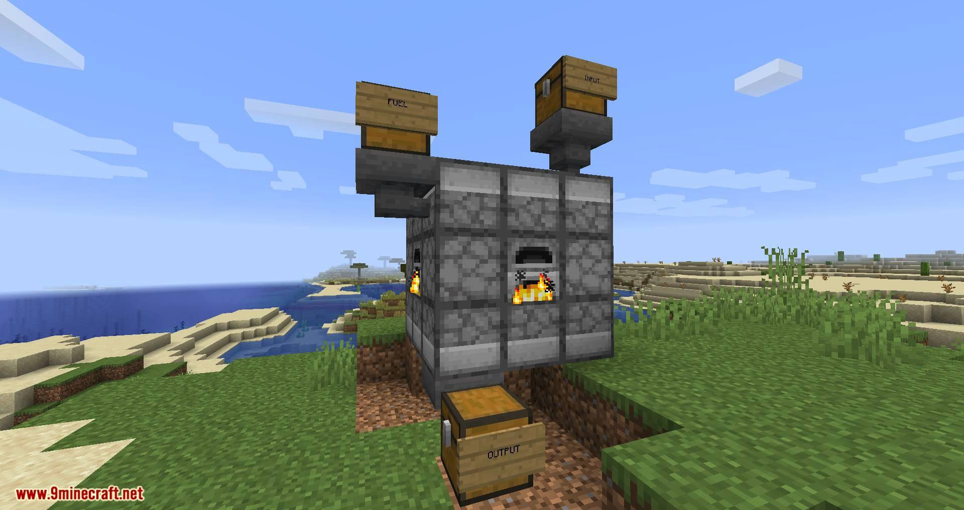 Jumbo Furnace mod for minecraft 08