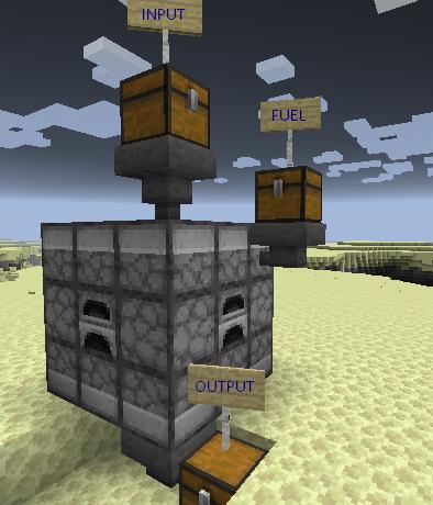 Jumbo Furnace mod for minecraft 23