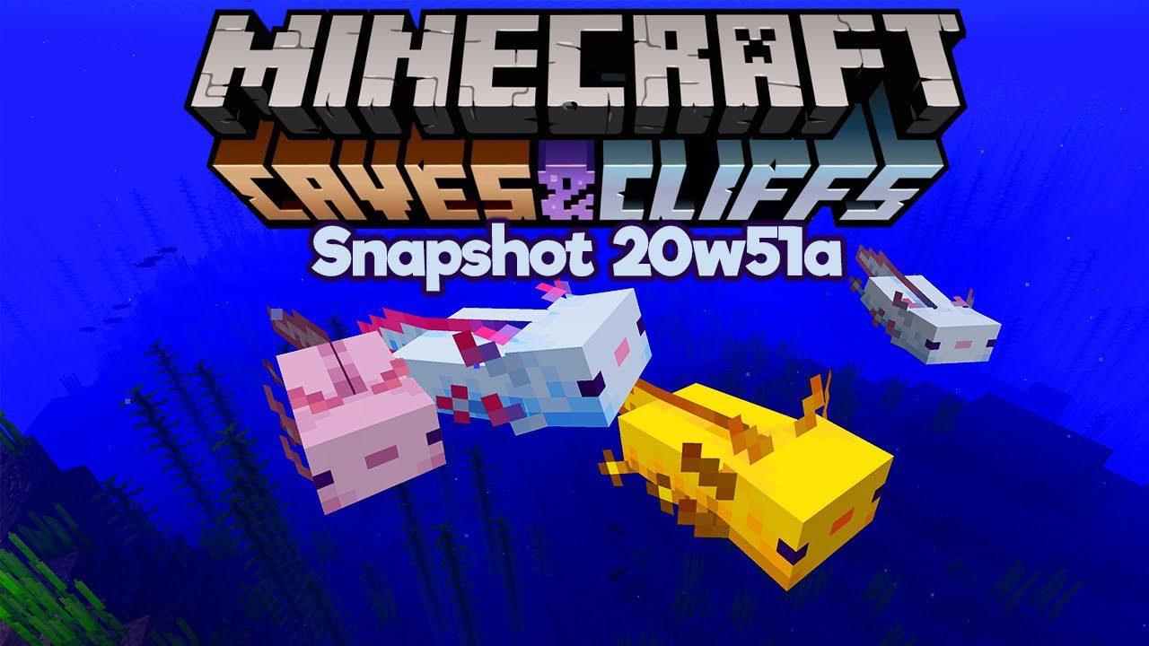 Minecraft 1.17 Snapshot 20w51a