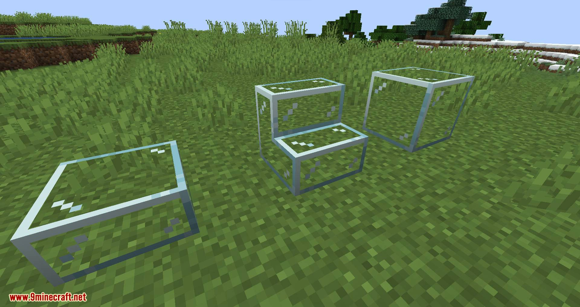 Mo Glass mod for minecraft 04
