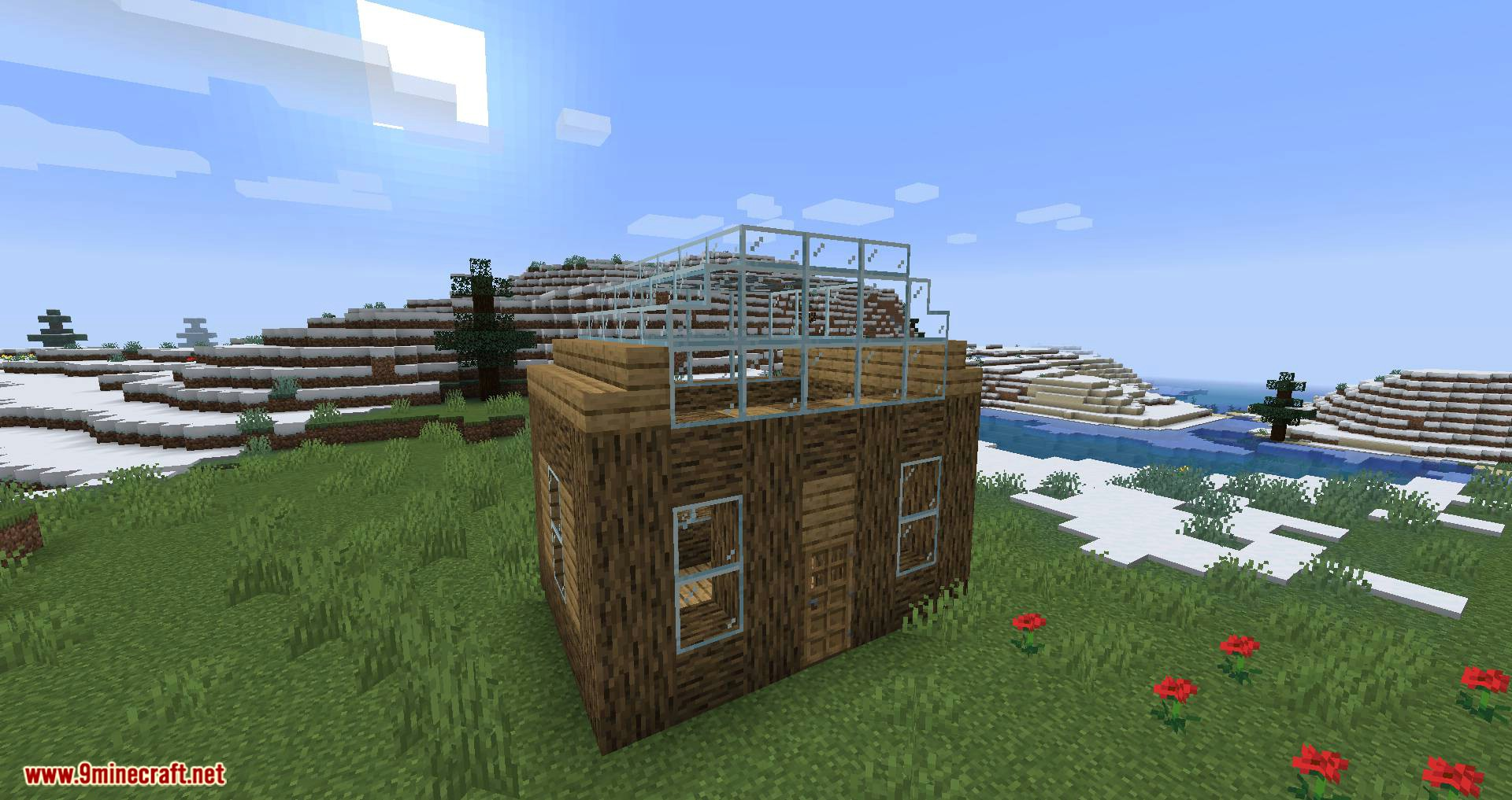 Mo Glass mod for minecraft 08
