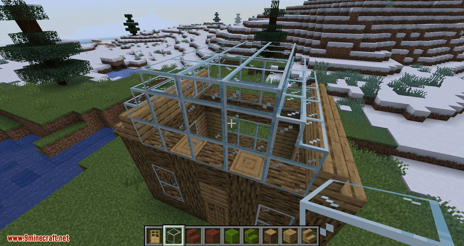 Mo Glass mod for minecraft 09
