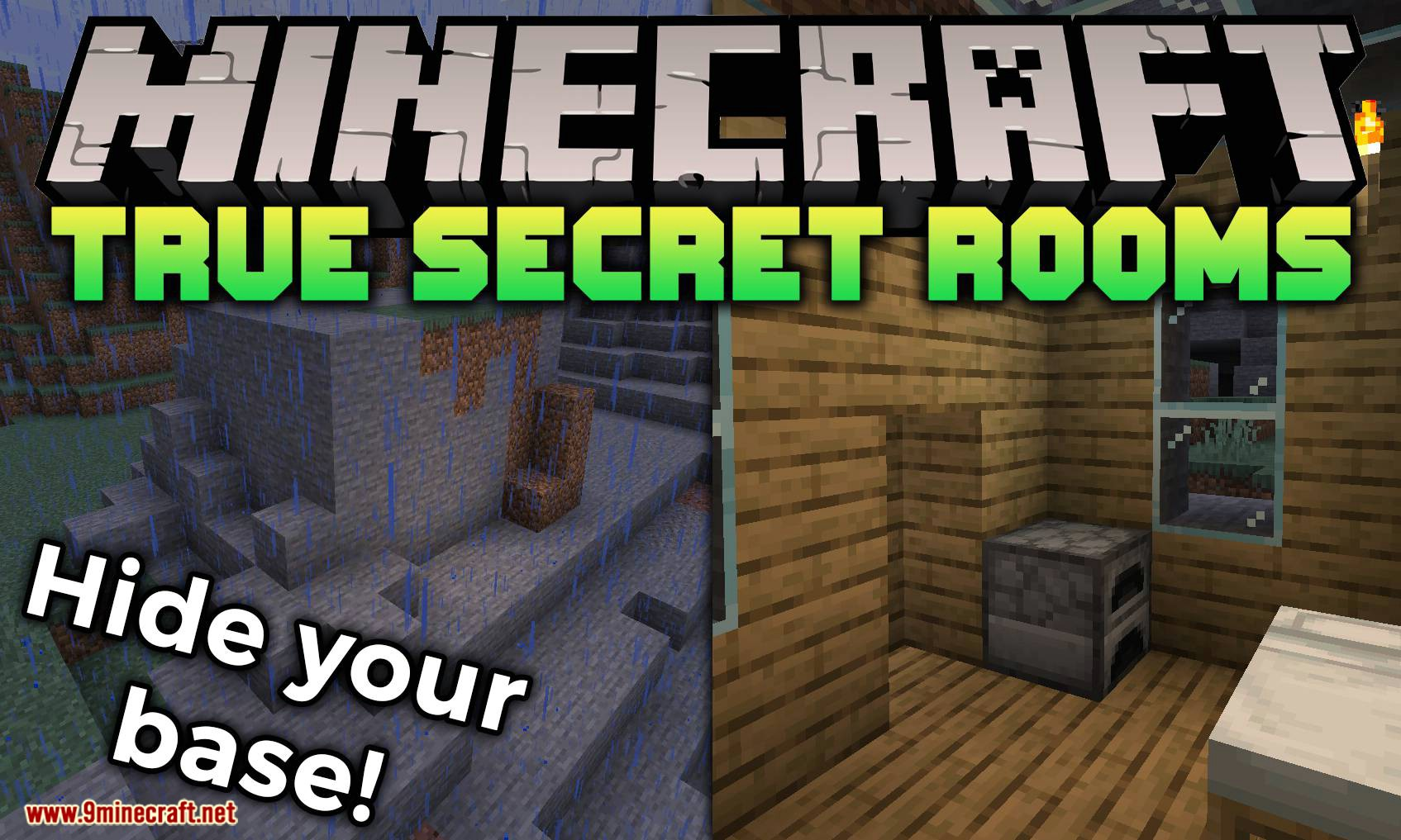 True Secret Room mod for minecraft logo