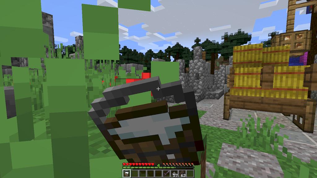 Wooden Bucket Mod Screenshots 3