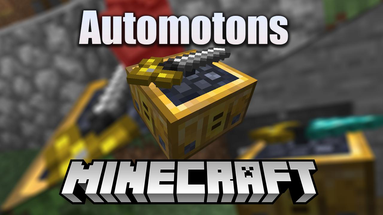 Automotons Mod