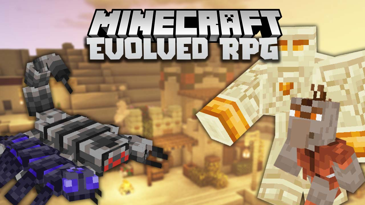 Evolved RPG Mod 9.96.9/9.96.9 (Entities, Weapons) - 9Minecraft.Net