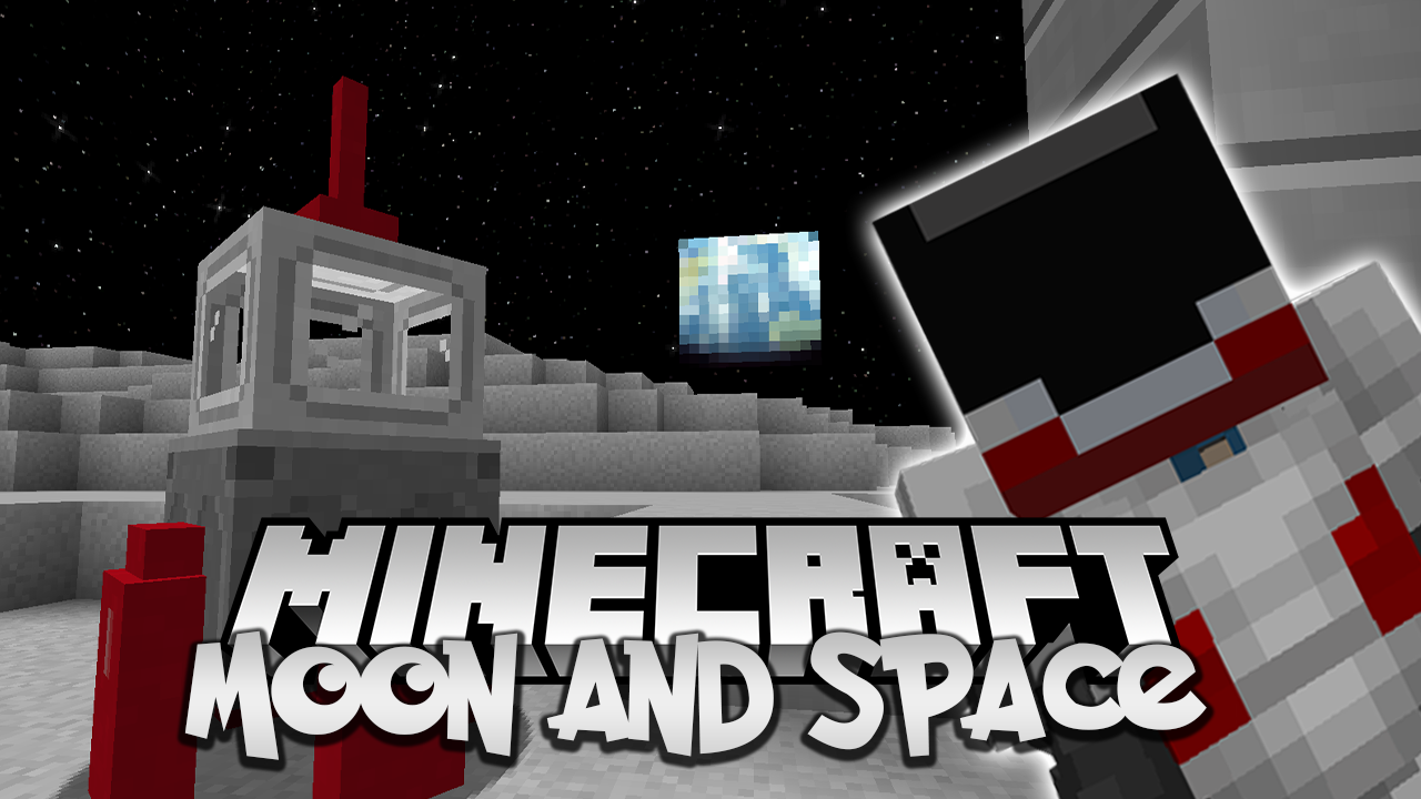 Moon and Space Mod 1.17/1.16.5