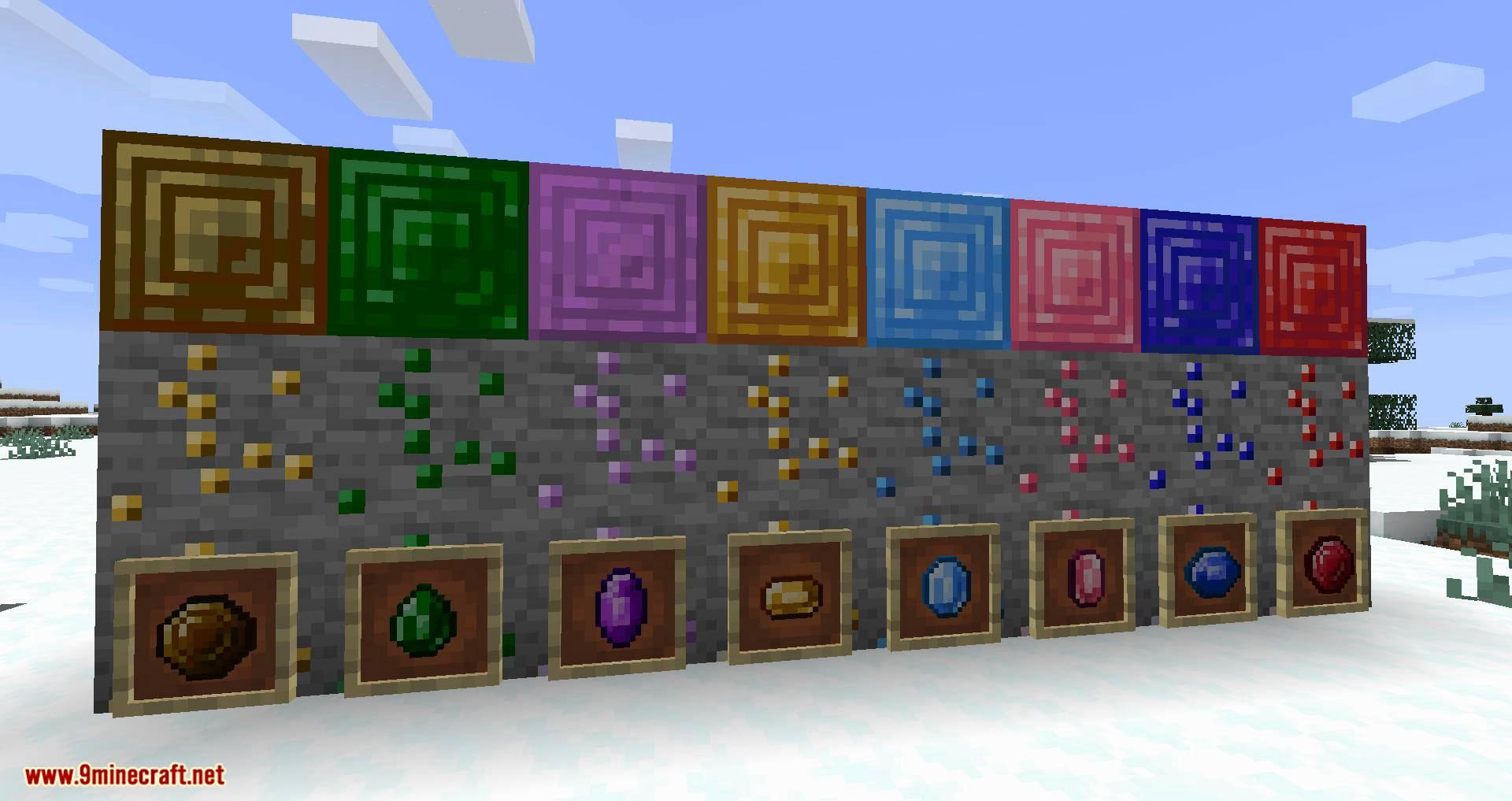 More Gems mod for minecraft 01