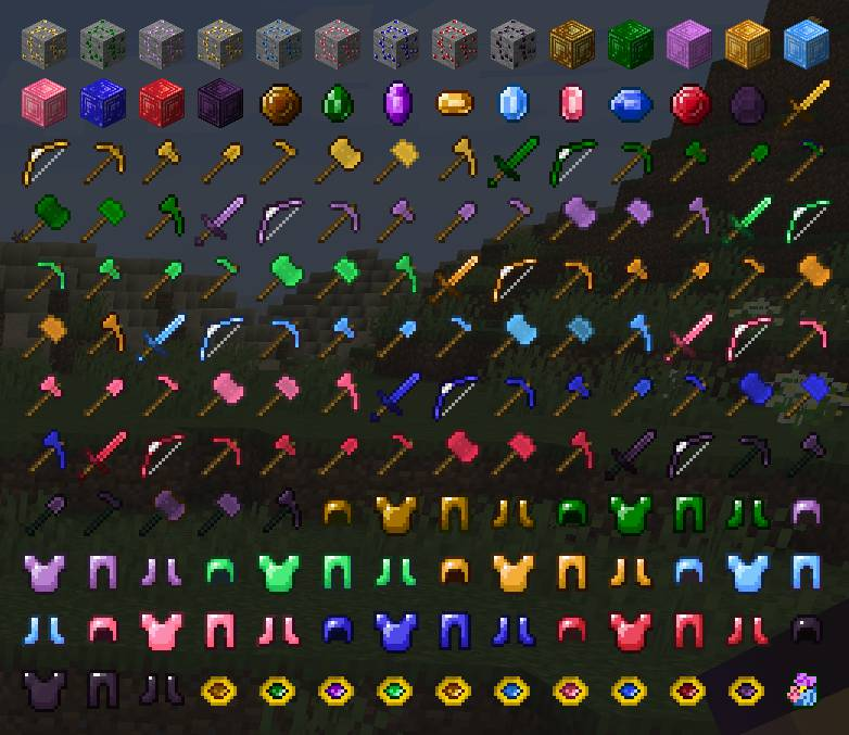 More Gems mod for minecraft 21