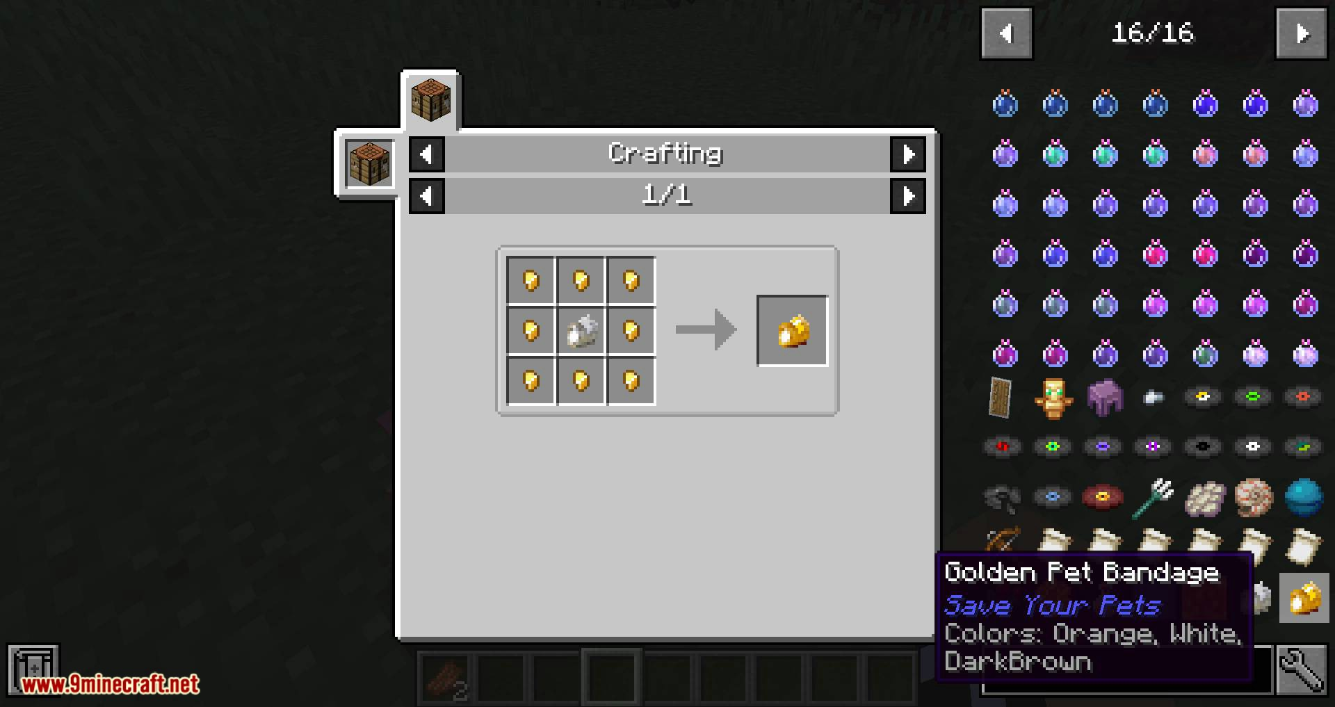 Save your pets mod for minecraft 05